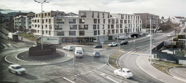 Kreisel Chotten, Sursee - Verkehr + Tiefbau