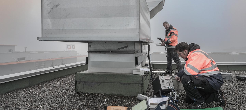 Emissionsmessung AMAG Buchrain