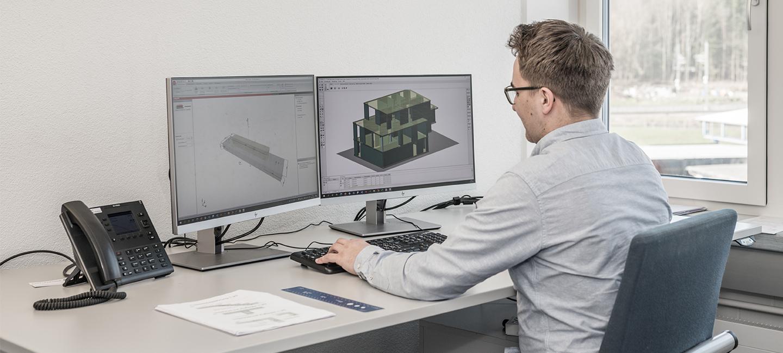 Dienstleistung Statikberechnung - Konstruktion