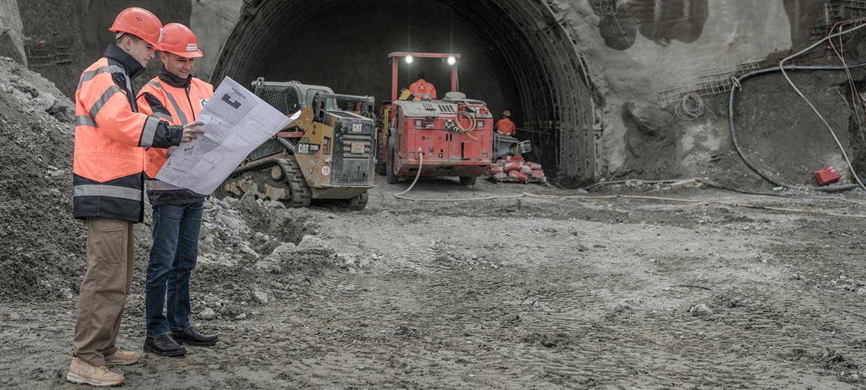 Stollen Wartegg - Ingenieurbau Luzern
