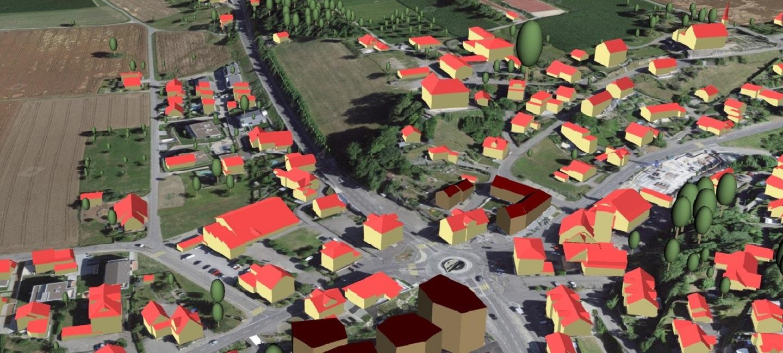 3D-Visualisierung - Raumentwicklung
