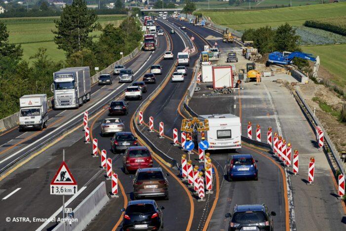 Verkehrsführung EP Reiden-Sursee